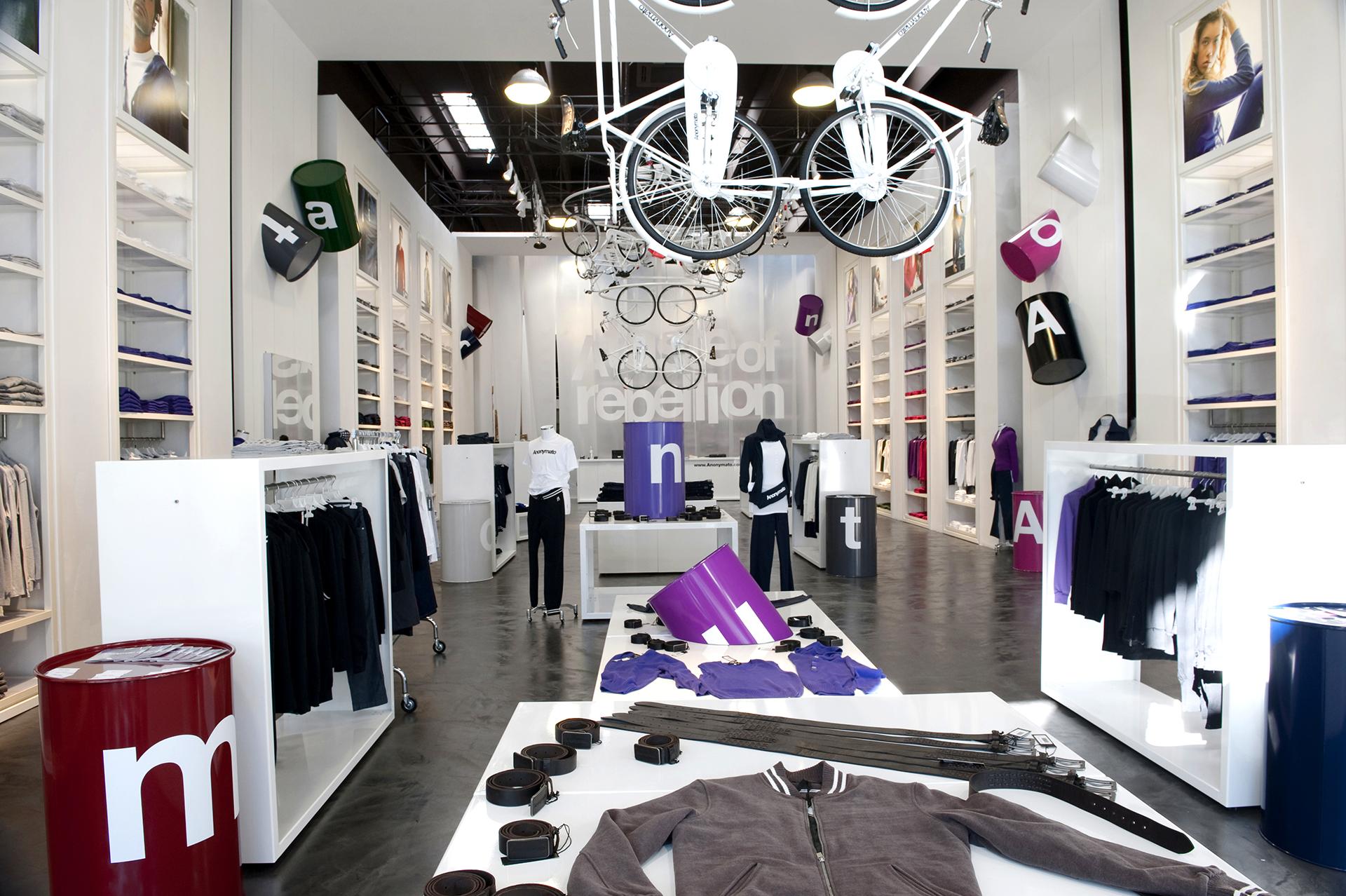 flagship store anonymato