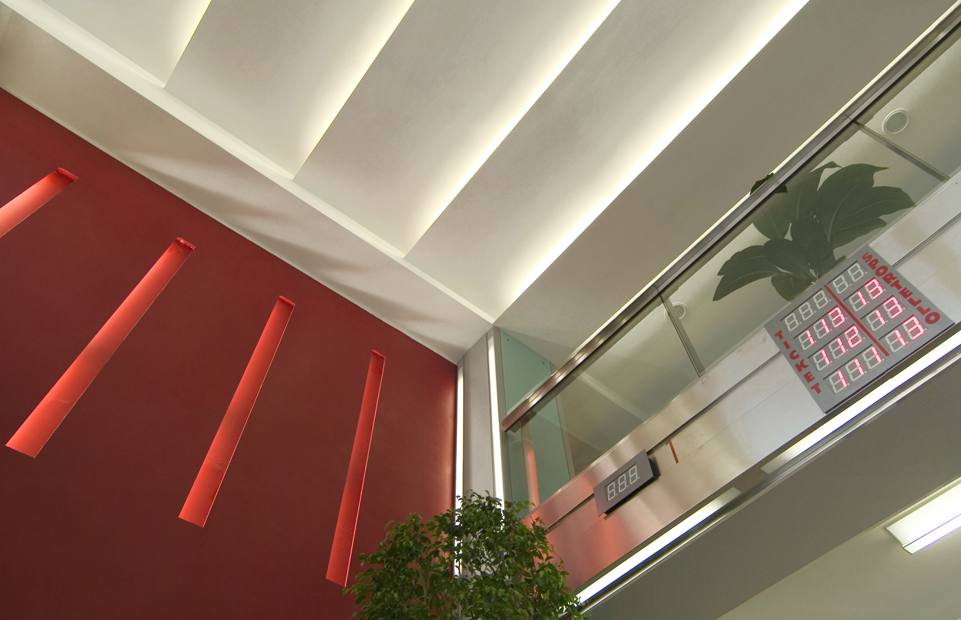 Controsoffitto Uffici Palazzo dell' Anagrafe