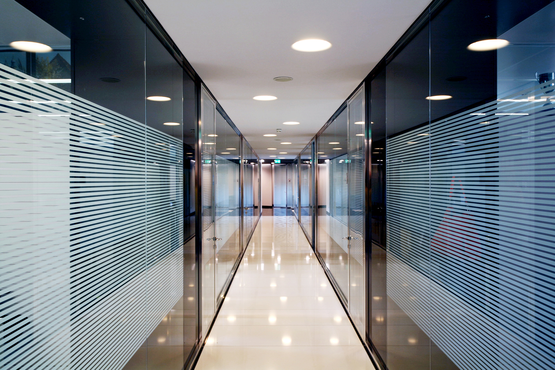 pareti vetro Uffici Società Assicurazione