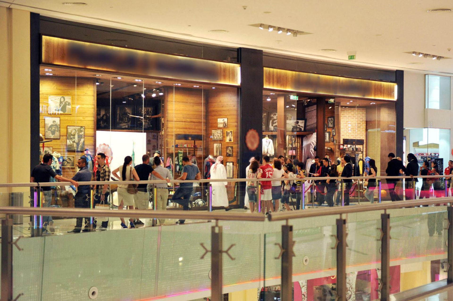 Vetrine Negozio Dubai