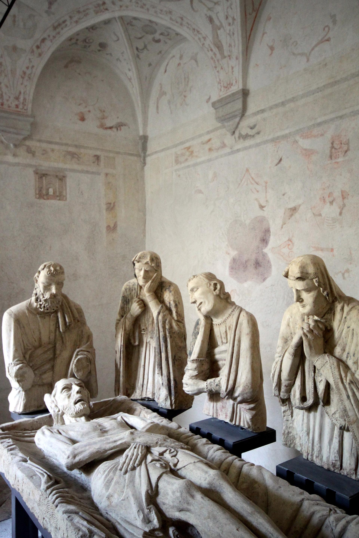 statue affreschi Villa Carlotti