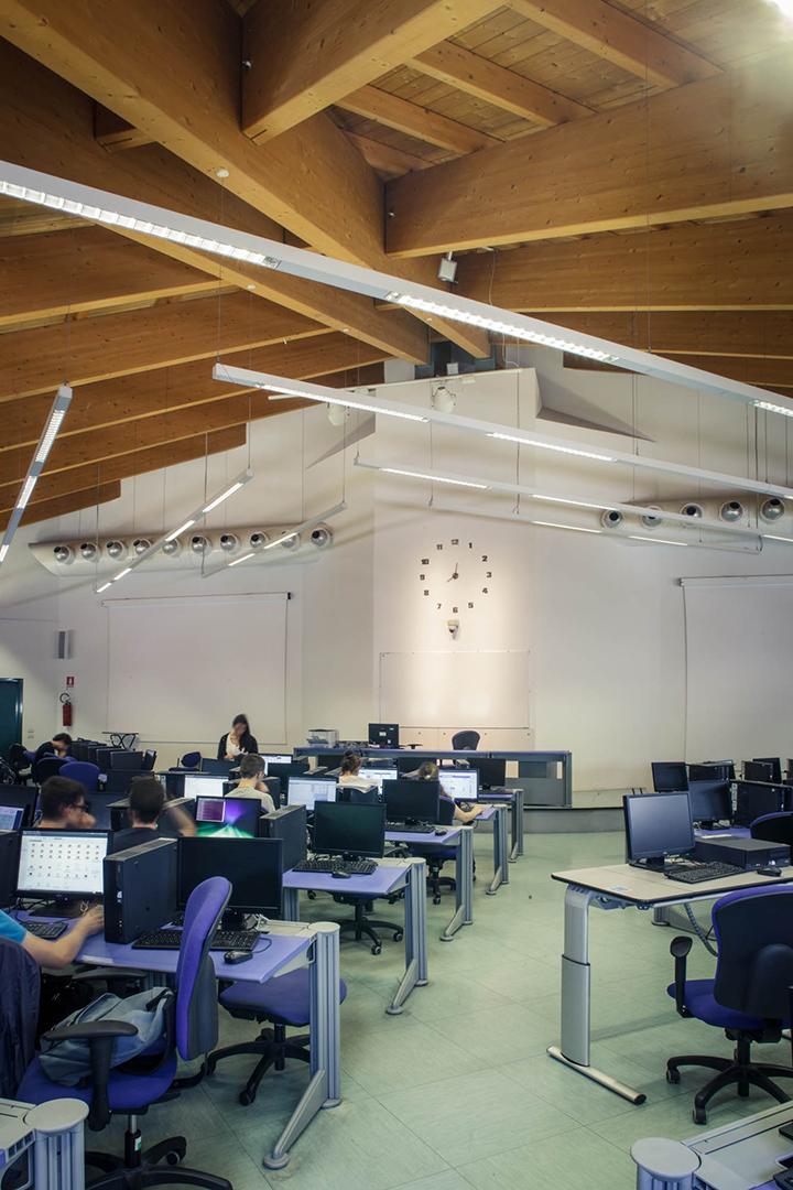 aula Facoltà di Scienze e Biotecnologie