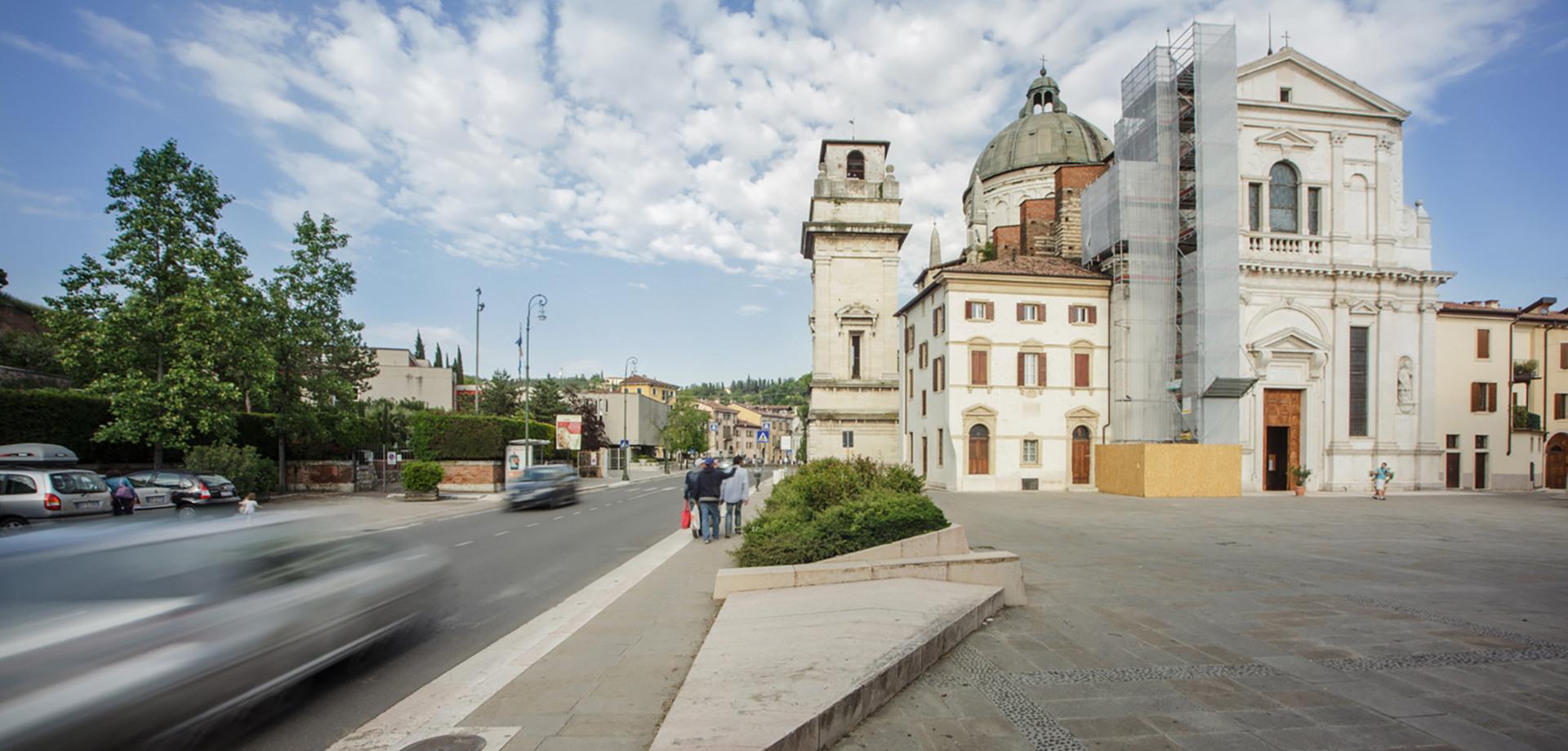 PIAZZETTA SAN GIORGIO IN BRAIDA Verona