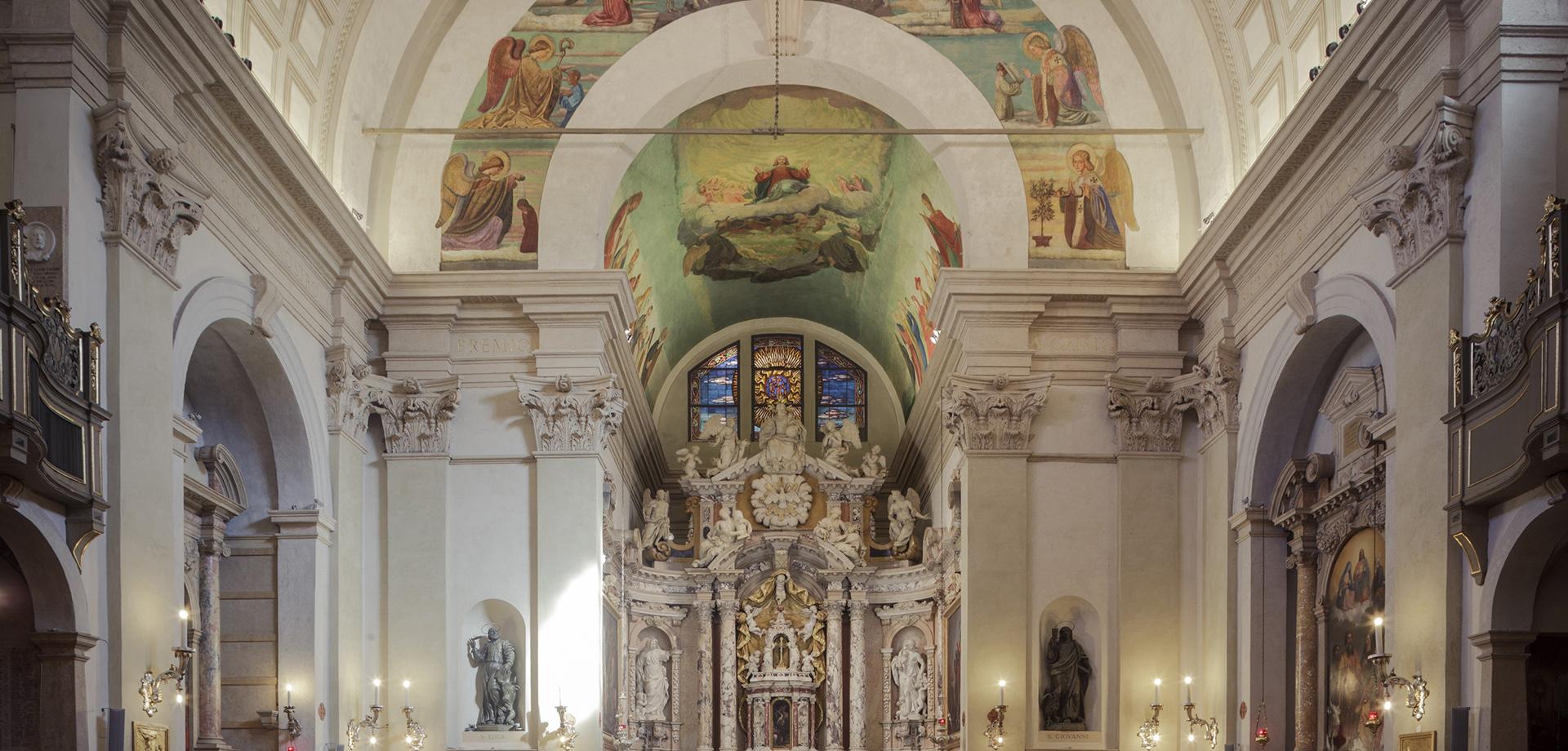 CHIESA SAN LUCA EVANGELISTA Verona