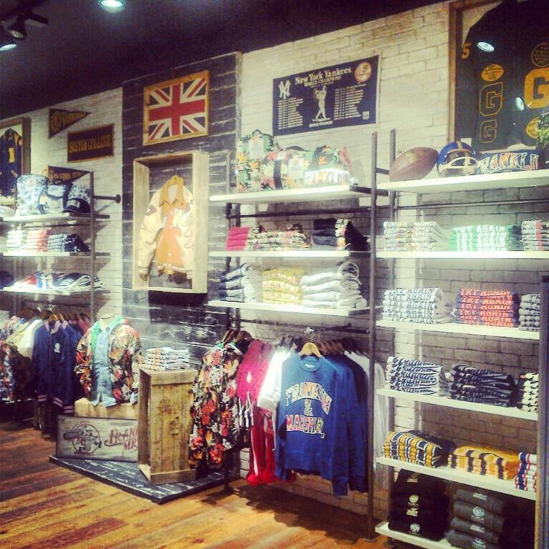 F&M vintage store Londra