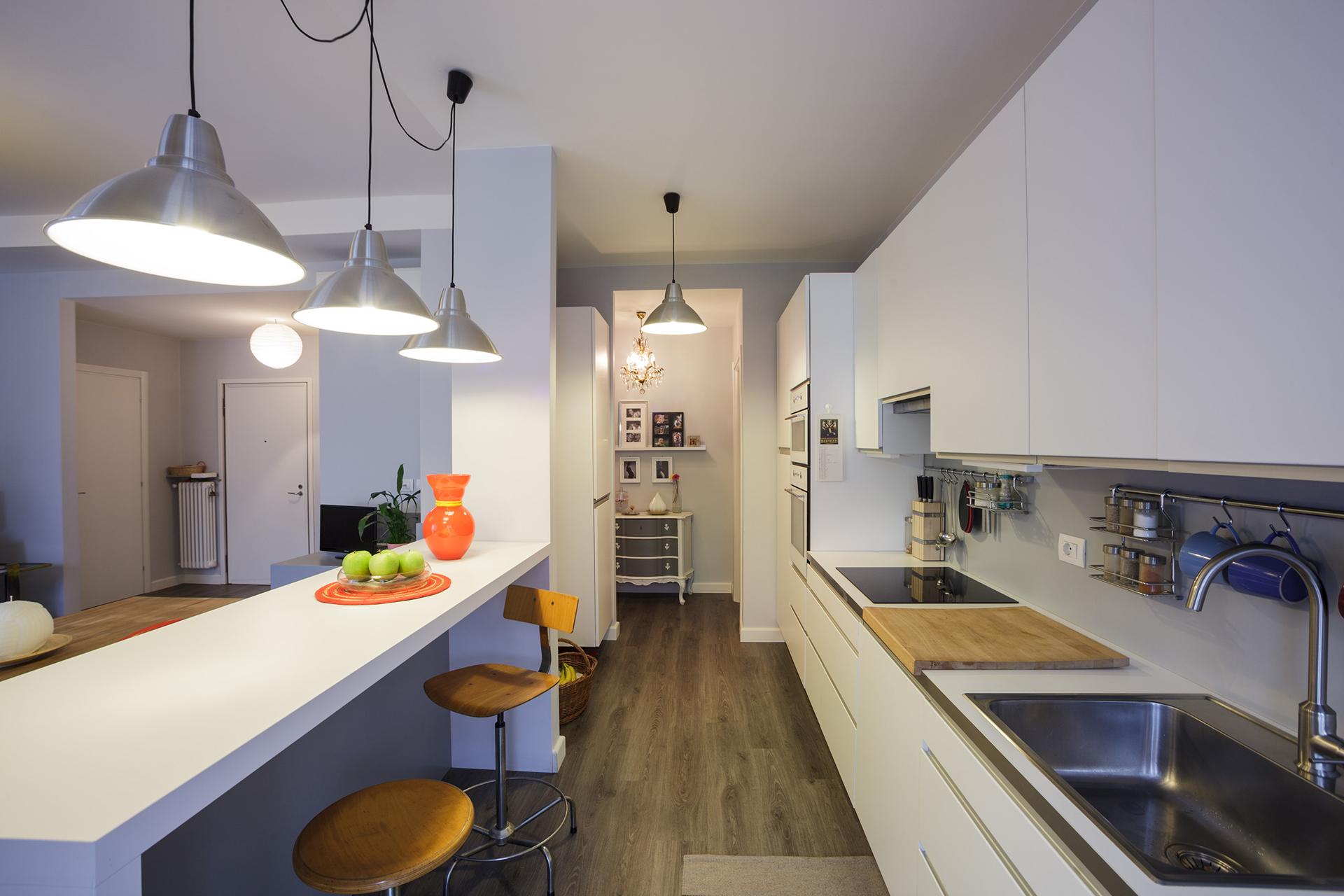 penisola cucina design casa BIESSE
