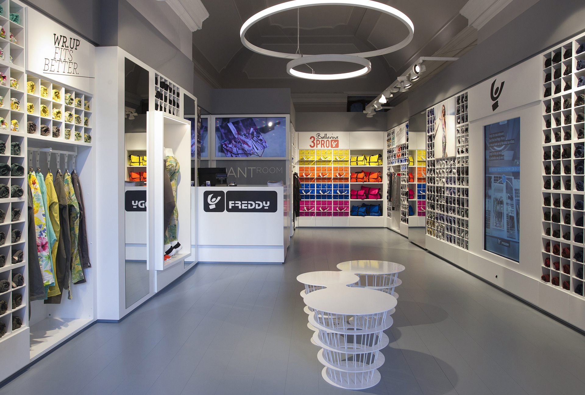 Freddy pantroom retail design