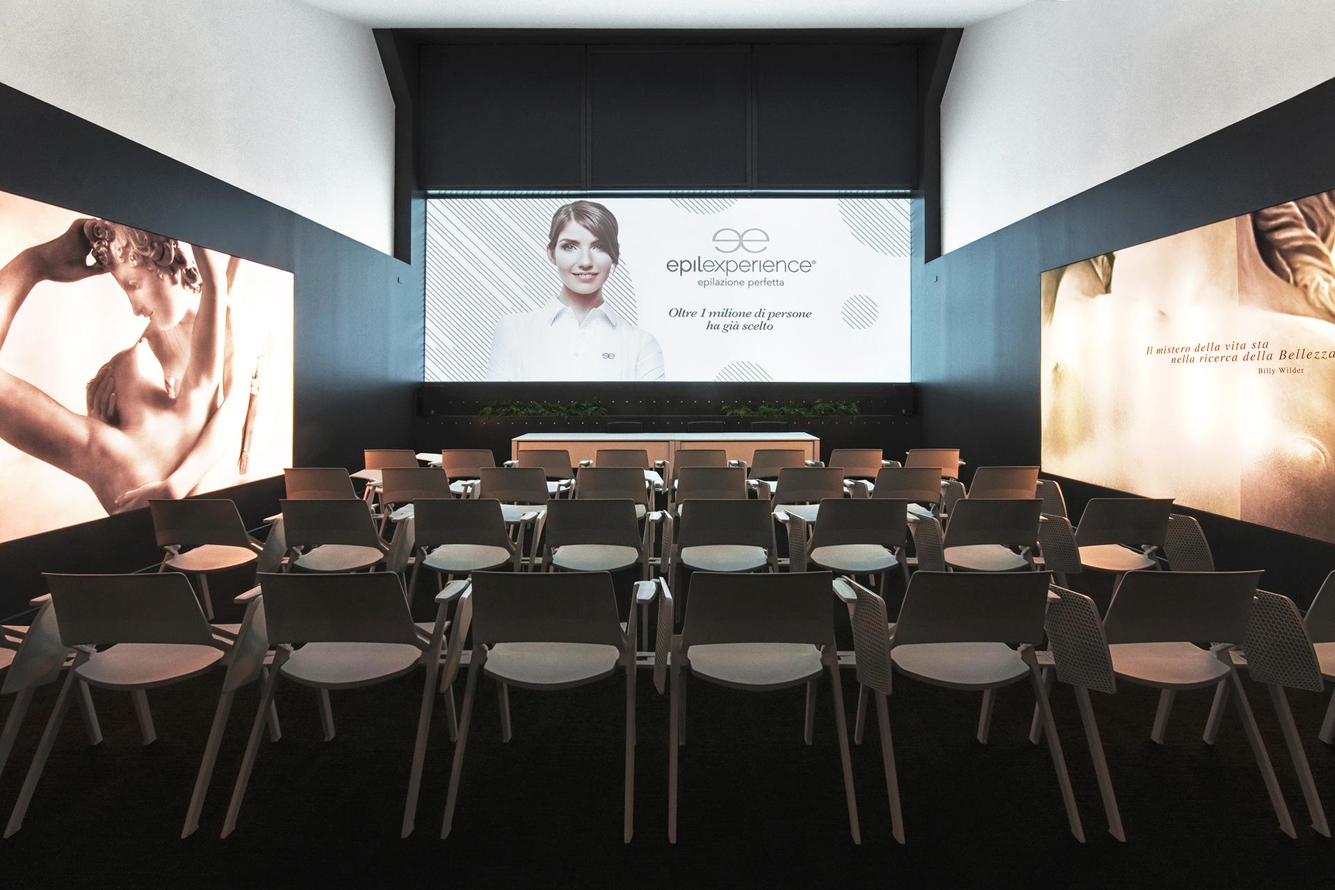 sala conferenze Beauty Experience Academy