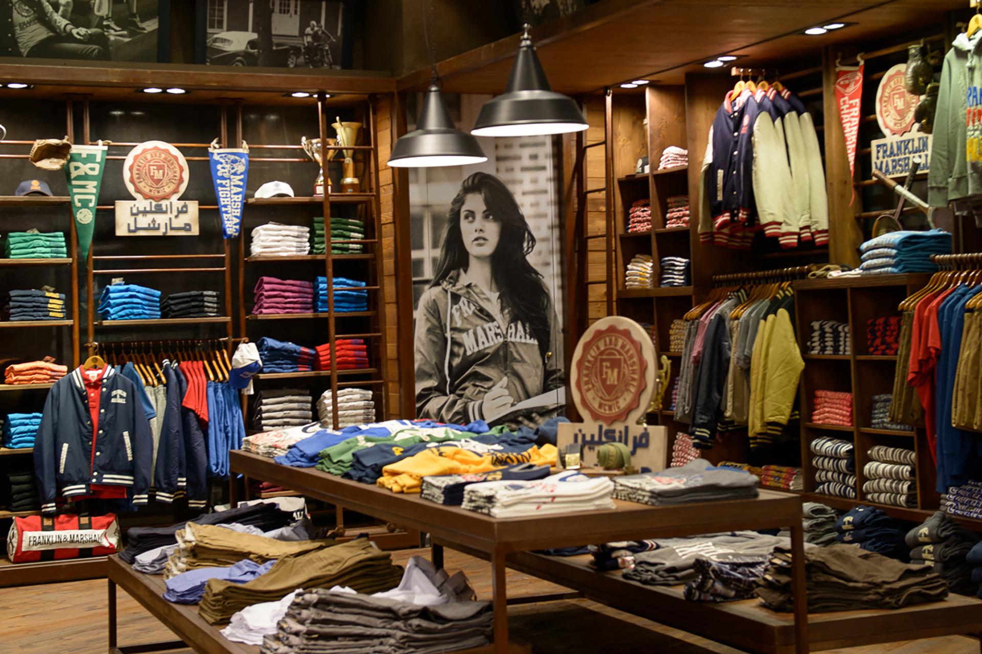Arredamento negozio FM Dubai