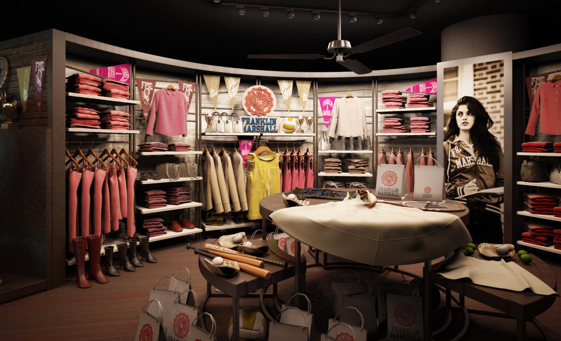 render store F&M Tokyo