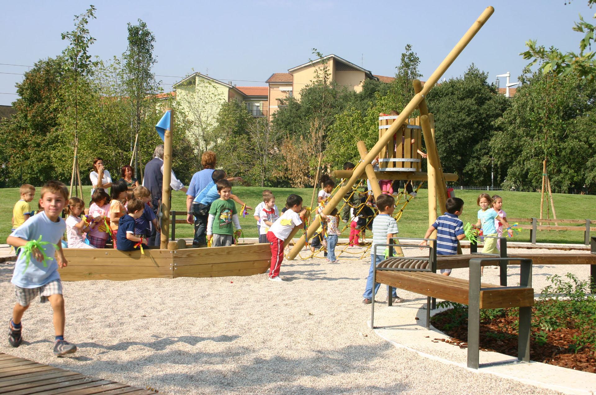 giardini pubblici via casorati