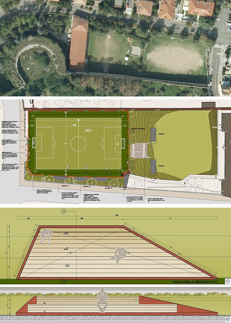 Progetto campo sportivo