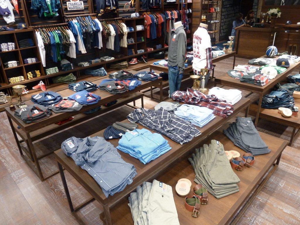 Interno negozio Dubai