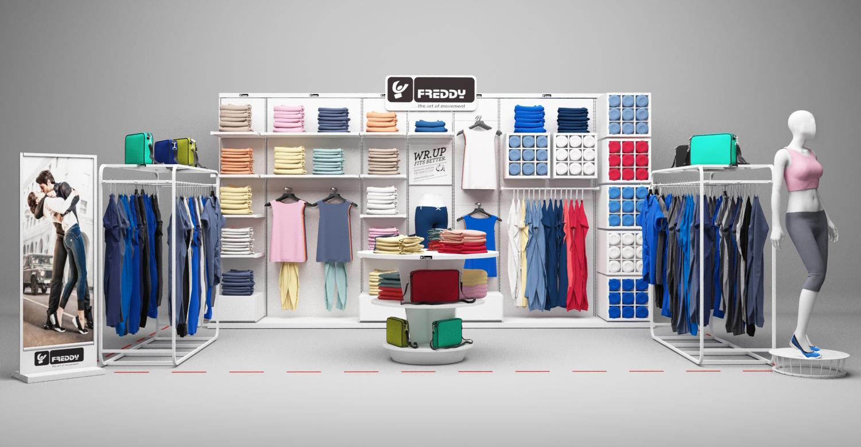 FREDDY store concept